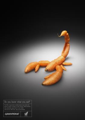 Informe sobre la actitud del consumidor británico frente a los alimentos modificados genéticamente