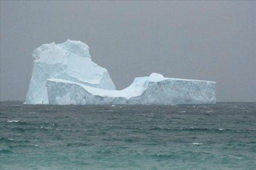Los icebergs gigantes llegaron a la costa de Chubut hace 20.000 años