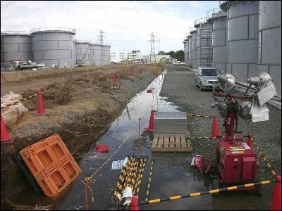 Detectada una fuga de agua contaminada en Fukushima